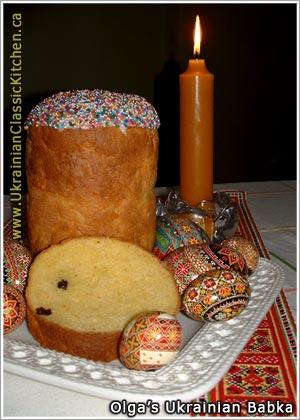 Ukrainian Babka Recipe Olga's ukrainian easter babka